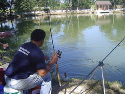 Dreamlake fishing in Chiang Mai