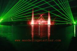 Swan Lake - Musical Fountain Show at 20.00 pm. & 21.10 Pm