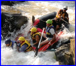 White Water Rafting & ATV ride in the jungle trails..CMA-03