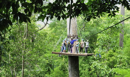 Eagle Track Zip line Chiang Mai