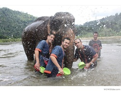 Program 4: The Mahout training course + Waterfall + White water Rafting (8.00 am. – 17.00 pm.)