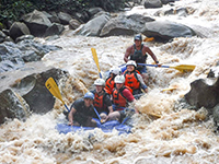 White Water Rating The best of the Mae Taeng 10 km