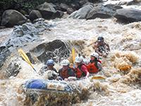 White Water Rafting 10 km and Zip line Chiang Mai Adventure