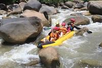 White Water Rafting 10 kilometers and 3 hours trekking