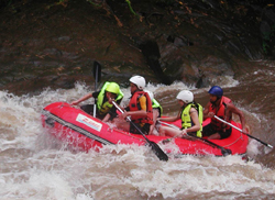 The rafting is very fun and the highlight of the trip.