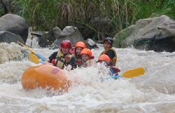 Exciting Chiang Mai with Wite Water Rafting in Mae Tang River, north of Chiang Mai
