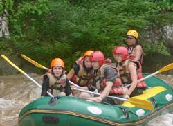 White Water Rafting & ATV ride in the jungle trails..CMA-03