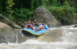 Join our professional team for a superb whitewater rafting adventure o­n the Mae Tang river