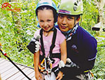 Eagle Track Zip line Chiang Mai, Enjoy your life! Extreme fun&double safety.