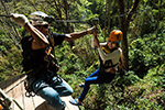 Extreme Zipline with 49 platforms, 1300 meters above sea level, Dragon Flight Zipline Chiang Mai a thrilling , fun, and safe flight.