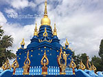 One day Chiang Rai White Temple, Blue Temple and Black House ( Optional: visit Karen Longneck Hill tribe )