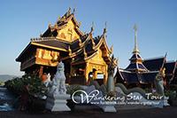 Karen Longneck, Chiang Dao Cave, Wat Baan Den Temple and Buatong Sticky Waterfall