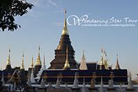 Doi Suthep Temple, Wat Phalart Hidden Temple, Wat Baan Den Temple and Buatong Sticky Waterfall