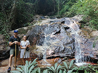 Doi Suthep Temple, Pha Lad Temple, Mon Tha Than Waterfall and 40 mins hiking down in jungle