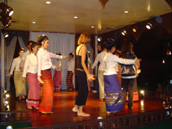 In the evening a trip to the Old Chiang Mai Cultural Centre will let you sample Northern Thai dinner.