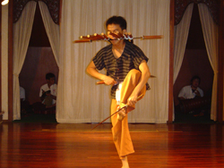 The Sword show at Old Chiang Mai Cultural Center