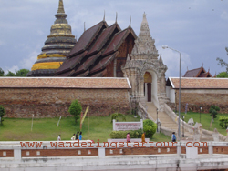 Visit Wat Phrathat Lampang Luang. This ancient monastery is one of the most important historical places in Lampang