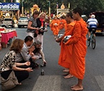Morning Alms Giving and Visit Doi Suthep Temple - Seeing The North - Chiang Mai Cultural Tour