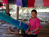 Visit Karen long neck tribe who wear brass neck-ring where you will meet The Karen Long Neck (Padaung) Akha and Lahu at this village