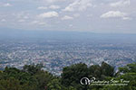 Doi Suthep View Point overlooking Chiang Mai City