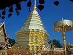 visit Doi Suthep Temple. Visit the beautiful temple on Suthep mountain, which offers a wonderful panoramic view over Chiang Mai