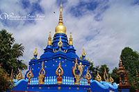 Blue Temple ( Wat Rong Sua-Tent )
