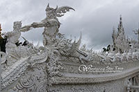 Visit White Temple. The temple is the highlight of the day.