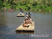 Enjoy Bamboo rafting