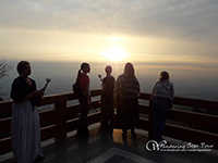 See Sunrise at Doi Suthep temple