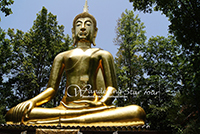 Wat Analayo Thipphayaram, Within the compound of the temple is enshrined a beautiful Buddha image in the Sukhothai style of art,