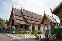 Visit Wat Chiang Maan, the first temple as the royal resident of King Mengrai of Mengrai dynasty