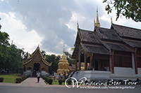 he Wat Phra Singh dates back to the 14th century when Chiang Mai was the capital of the Lanna Kingdom, and is one of the finest examples of classic Lanna style temple architecture in Northern Thailand