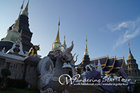 Wat Baan Den is an amazingly attractive and unusual Thai Temple. In 1988 the new Abbot of Wat Ban Den set out to create the most beautiful Thai Temple in the area from Chiang Mai city.