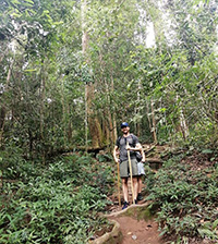 Experience walk down in jungle about 40 mins to hidden temple