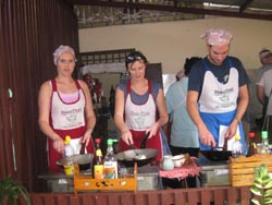 Baan Thai offers four separate courses, including evening classes