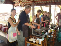 Asia Scenic Thai Cooking as more than just a school, but rather as an extension of a home and an opportunity to share Thai cooking and culture.