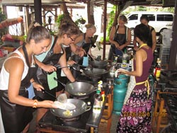 You cook that you wish to cook, Asia Scenic Thai Cooking School ChiangMai is not just a cooking school…cook, eat and leave! There are more to look into it