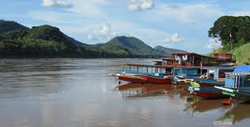 Package A: Package 3 days 2 nights Chiang Mai to Luang Prabang by Slow Boat (Visit Wat Rongkhun (White Temple), Included guesthouse at Chiang Khong )