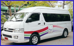 Mini - bus service from Chiang Mai to Nong Khai - Vientian (One Way) For guest who want to do Visa Extension