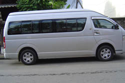 Mini - bus service from Chiang Mai to Mae Sai (Round Trip)