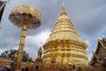 Mini Bus Rental Chiang Mai - One day Doi Suthep Temple, Phuping Palace, Mhong village, Borsang-Sankhampaeng handicrafts