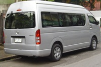 Private mini bus to Sukhothai