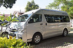 Private Mini bus with our driver