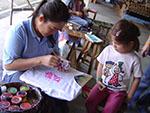 Borsang paper umbrellas and Sankampaeng handicrafts