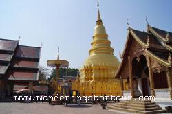Visit Wat Phrathat Hari Poonchai