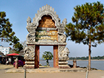 The Golden Triangle - meeting point of Thailand, Laos and Myanmar.