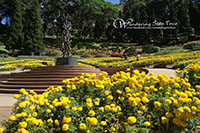 Visit Doi Tung, The botanical gardens known collectively as The Mae Fah Luang Garden