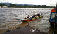 Optional: Take a long tail boat along Mae Khong River to visit Laos blanks