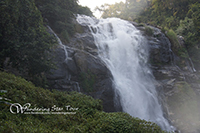 Wachiratharn, the 80 meter-high waterfall of Mae Klang River