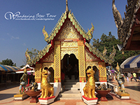 Doi Kham temple and see Chiang Mai View